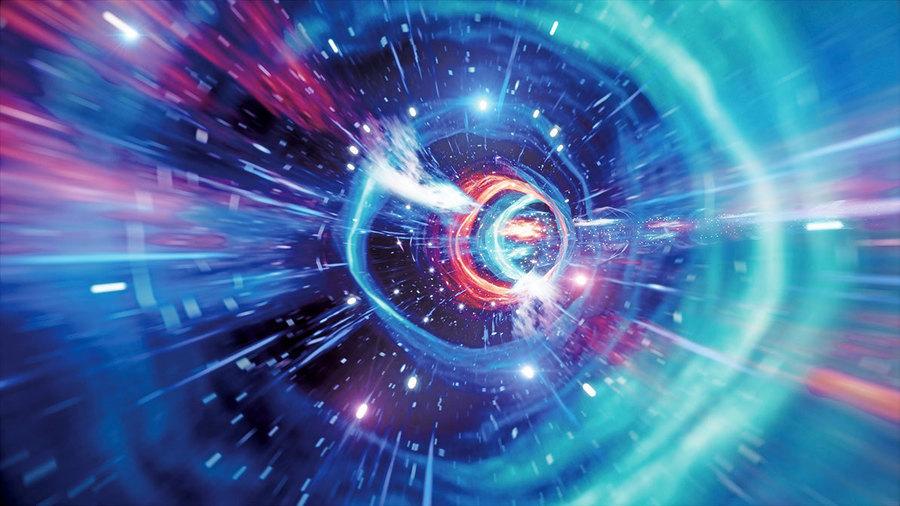 新實驗:物理學家用量子電腦模擬蟲洞