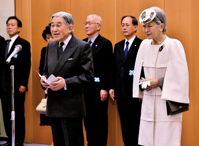 日本天皇欲「提前讓位」