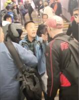 兩外國人質疑便衣身份起衝突