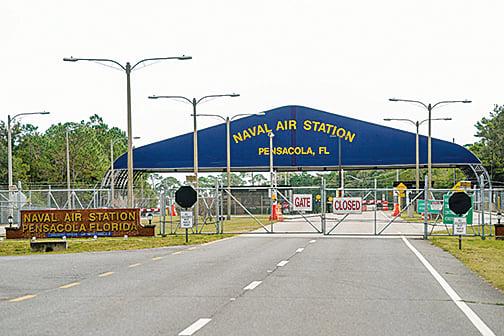 彭薩科拉海軍航空站。(Getty Images)