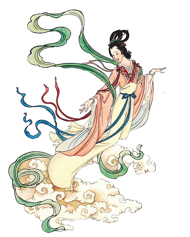 仙女圖。(大紀元資料圖片)