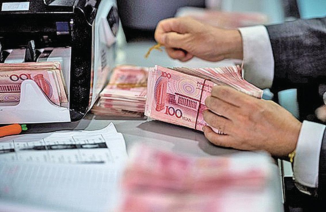 中國家庭負債額佔國內生產總值超過 6 成。(Getty Images)
