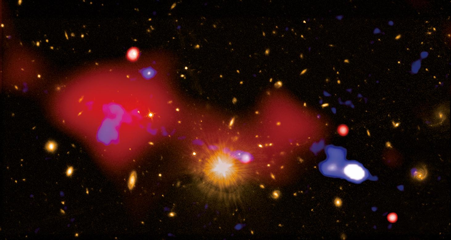 黑洞通常會吞噬物質,包括恆星,但科學家發現一個反常黑洞可能對恆星起到催生的作用。此為示意圖。(NASA)