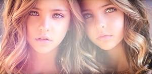 「世界最美雙胞胎」九歲姐妹擁一百四十萬粉絲