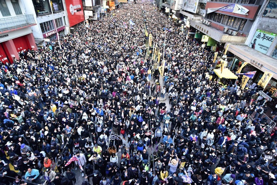 初心未變 12.8 八十萬港人大遊行