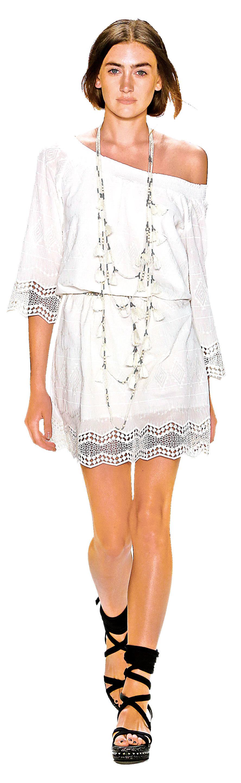 小白裙讓你盛夏更添魅力