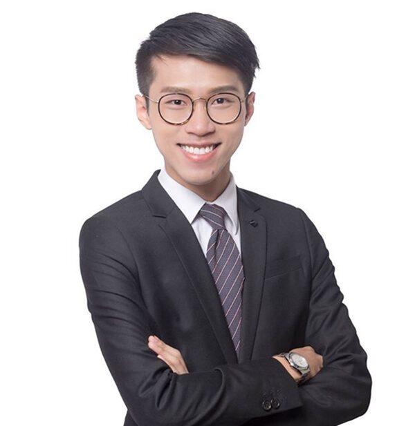 25歲的香港荃灣西區議員當選人易承聰,原是一位心理學系的大學生。(易承聰臉書)