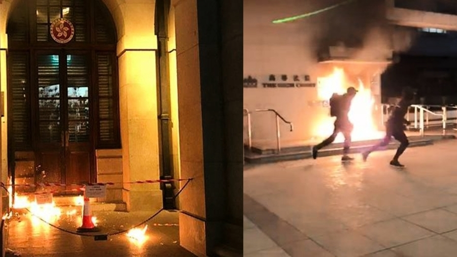 港警「埋雷」露餡?目擊者揭香港高院縱火案