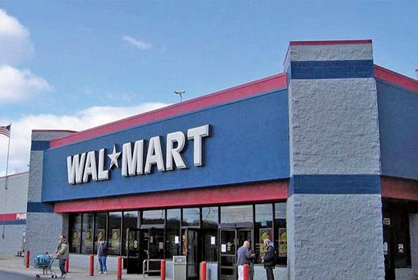 全球十大零售商,沃爾瑪居首。(新唐人)