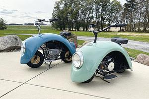 把電單車改成甲蟲車款式 網友:哪裏買得到?
