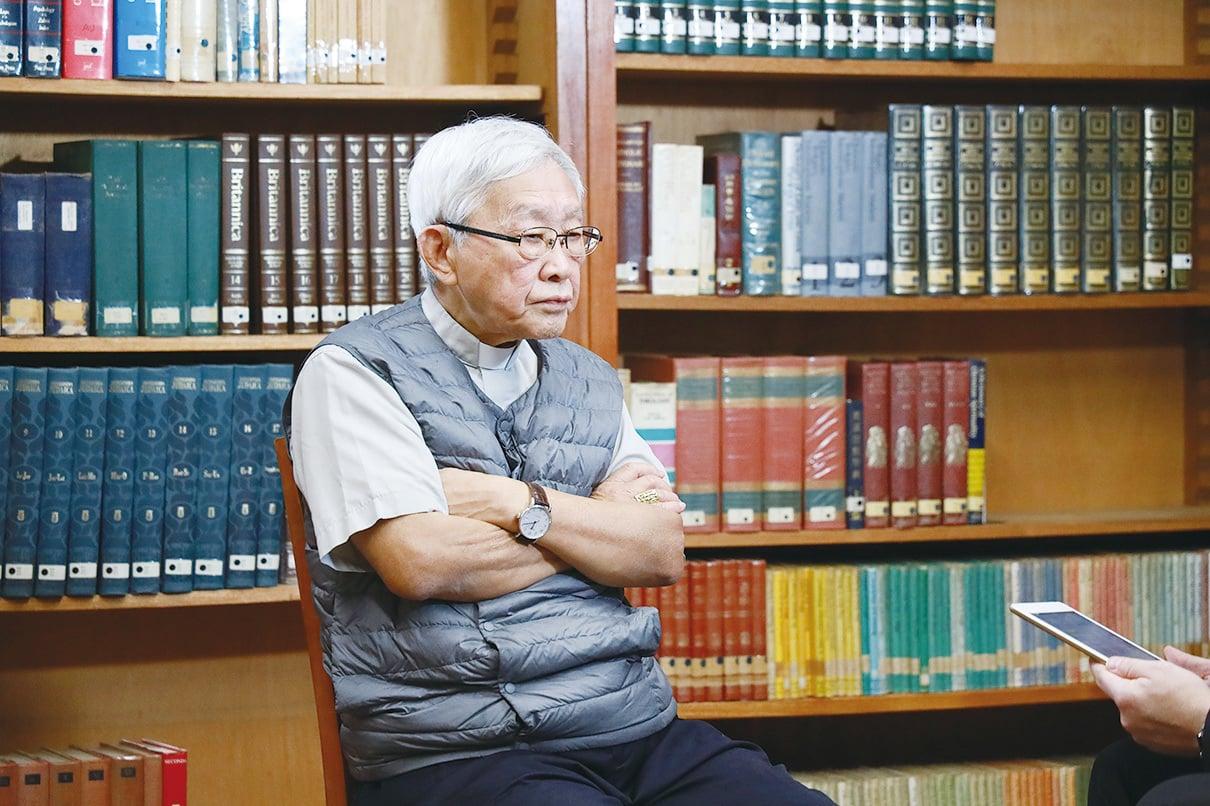 退休樞機主教陳日君。(王偉明/大紀元)