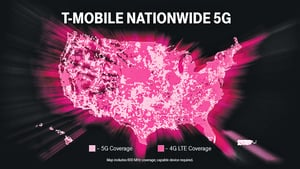 搶當領頭羊  T-Mobile全美推出5G服務