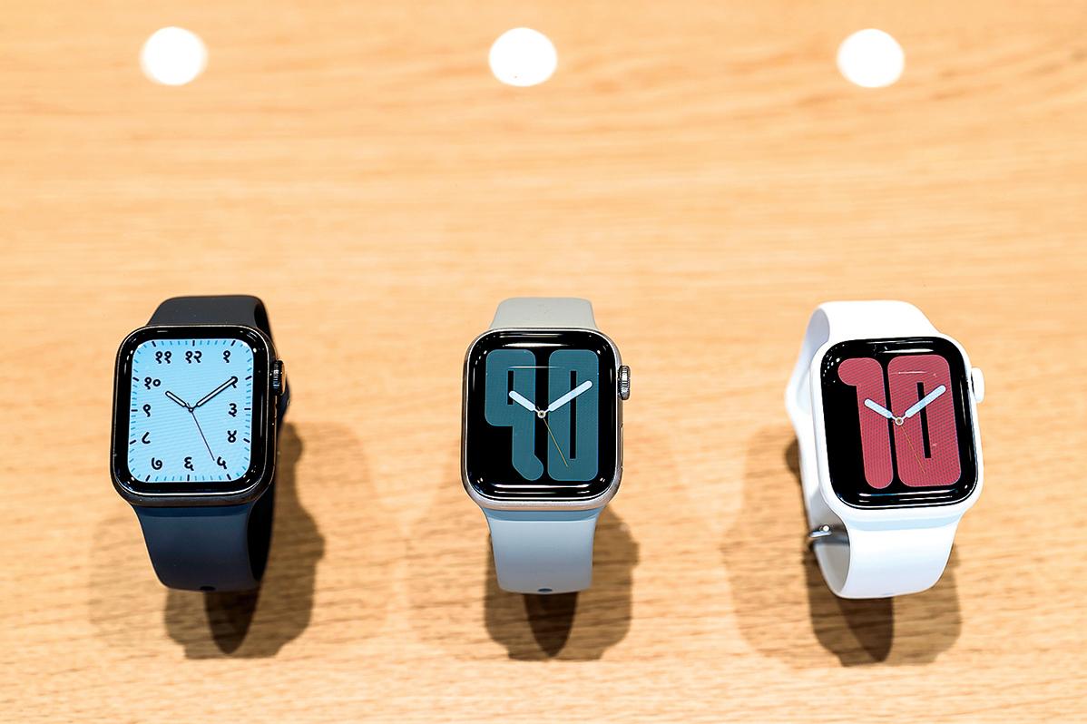 蘋果Apple Watch最新的系列5,圖2:三星Galaxy Watch Active