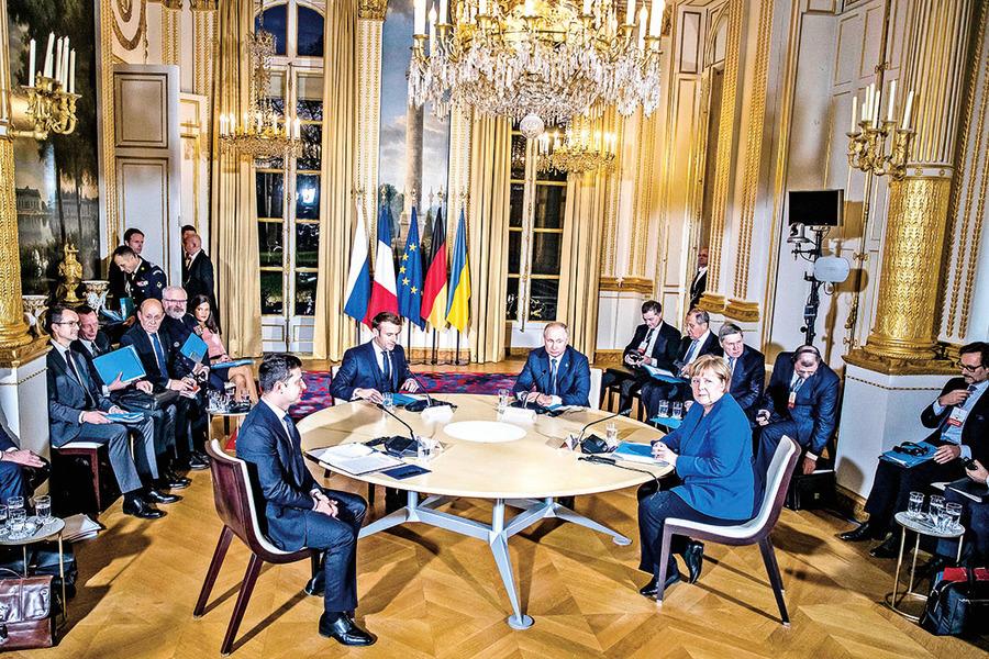 德法居中促成 俄烏同意年底前停火