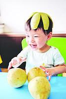 剝柚子有方法 輕鬆享用多汁柚肉
