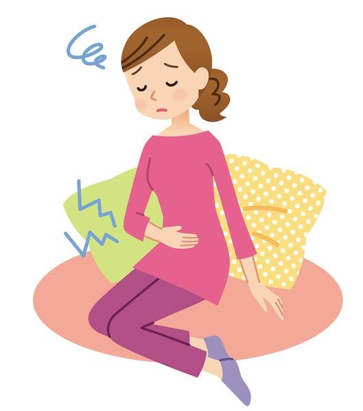 腹部莫名凸起伴隨經痛  小心子宮內膜異位症惹禍