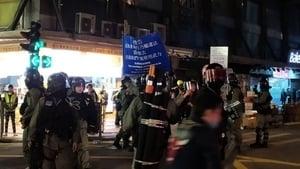 國際人權日港警亂槍掃射 3人送院