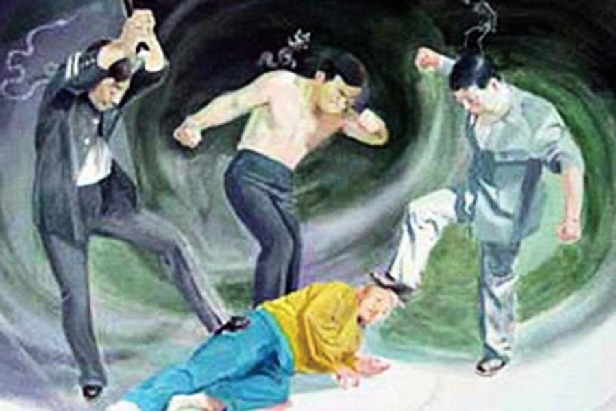 揭內蒙古莫旗 看守所酷刑迫害法輪功