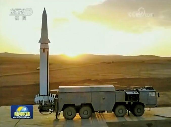 央視導彈畫面涉嫌造假 遭軍方內部人士拆穿