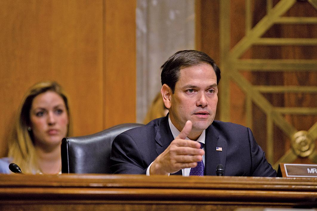 參議院共和黨參議員魯比奧(Marco Rubio)。(Getty Images)