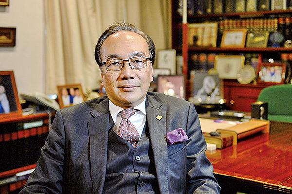 公民黨主席、資深大律師梁家傑。(大紀元資料圖片)