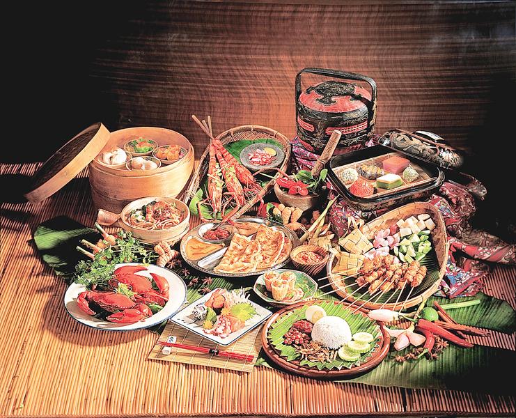 用味蕾玩大馬   吃遍四大菜系