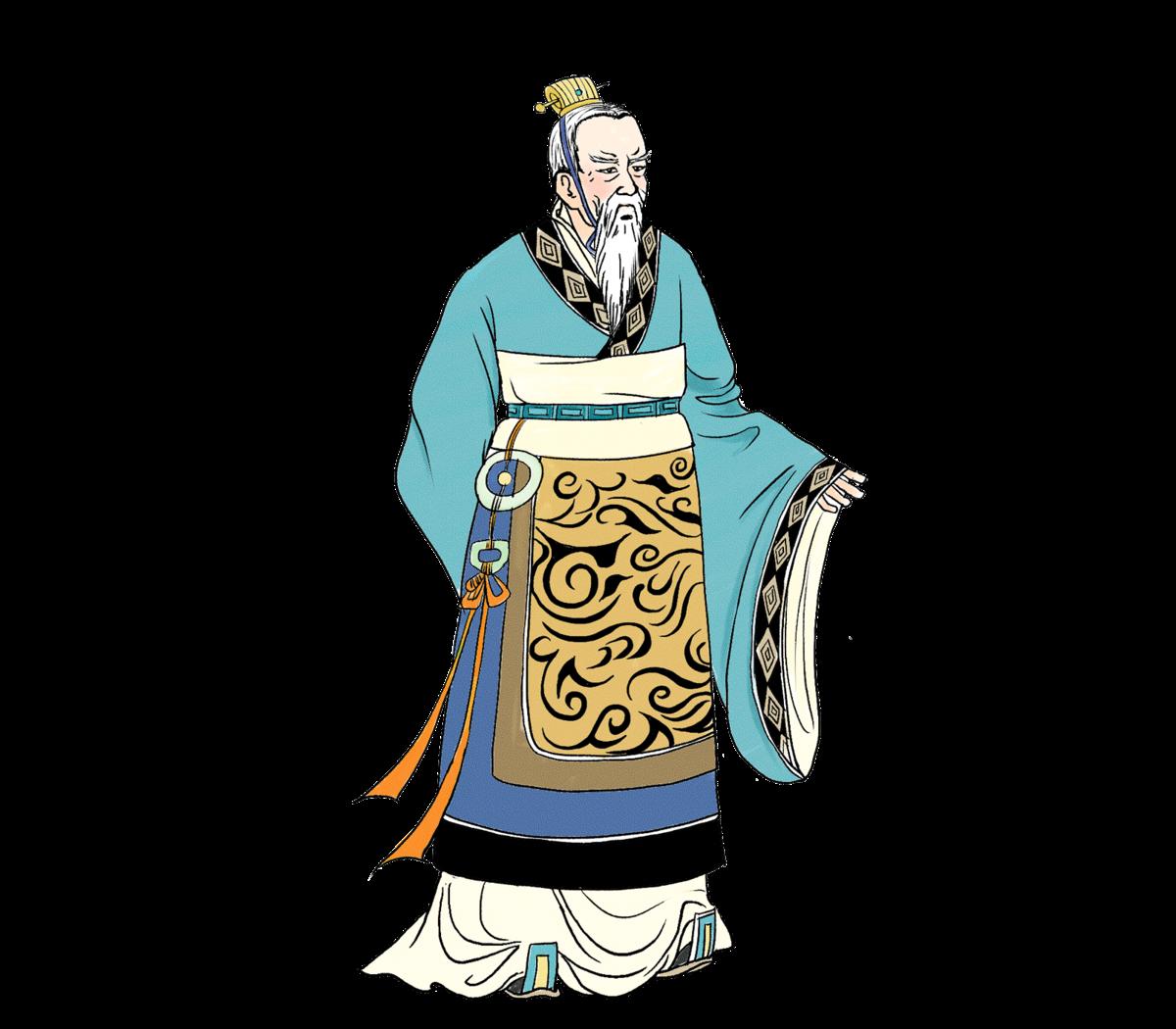 ▲ 范增,西楚霸王項羽的首席謀臣幕僚。