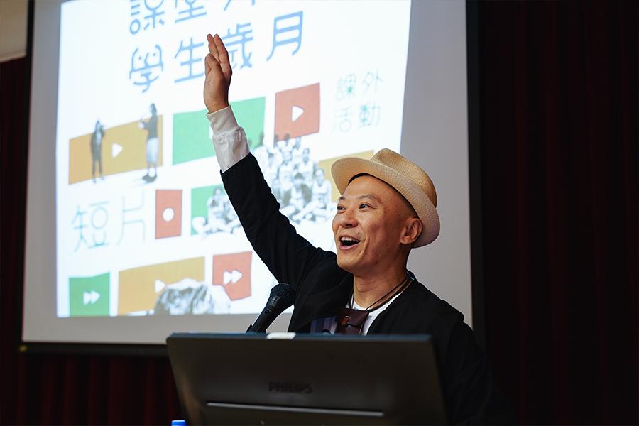 洪強博士開辦公開講座及創意工作坊。(受訪者提供)