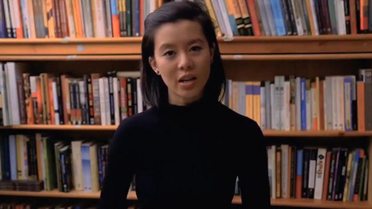 唐英年的外甥女郭佳怡發表6分鐘自白,聲援香港反修例運動。(影片截圖)