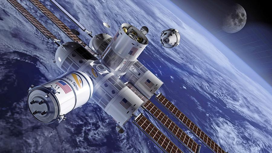 度假新去處:競相規劃中的太空旅館