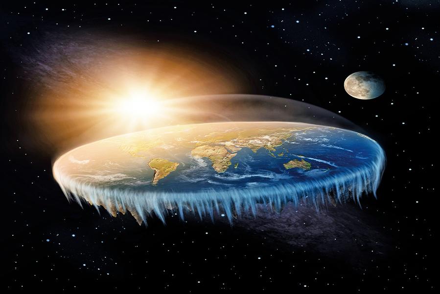 科學家「腦洞大開」:地球是扁平盤狀?