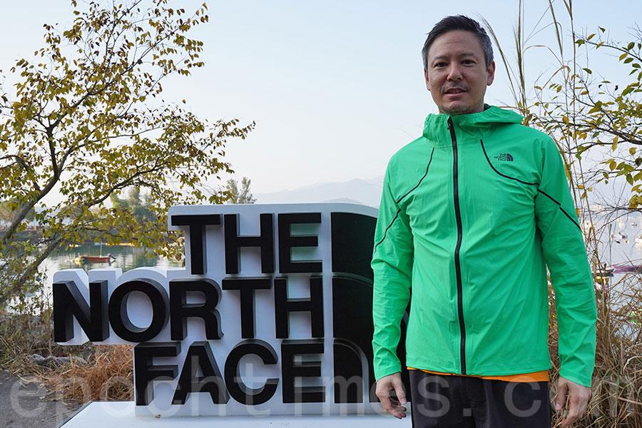 The North Face亞太區高級市場部總監Nathan Chang希望來年的比賽中有所創新。(陳仲明/大紀元)