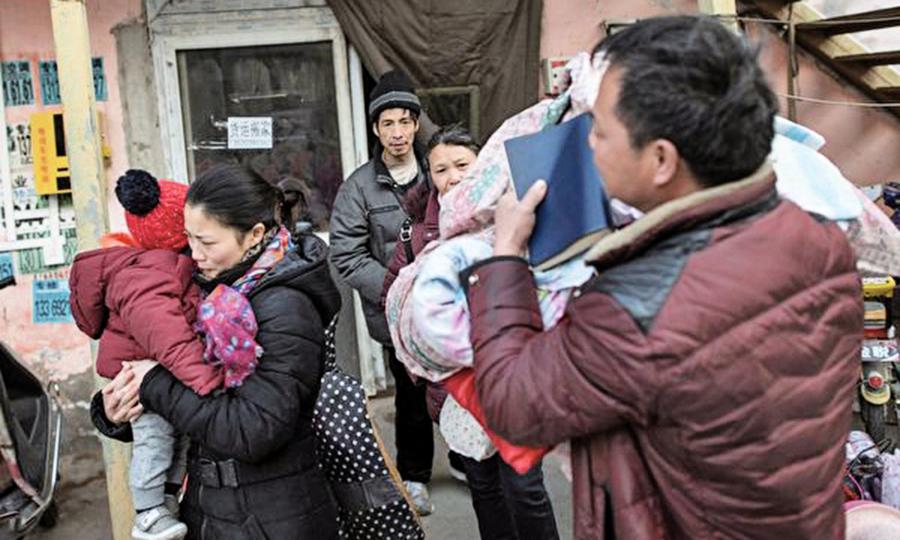 驅逐低端人口後 北京外來人口負增長