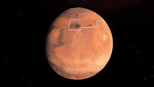 火星新發現:表面一英寸以下有水