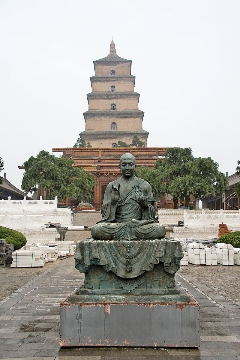 大慈恩寺位於陝西省西安市,寺內建有大雁塔(Maros/Wikimedia Commons)