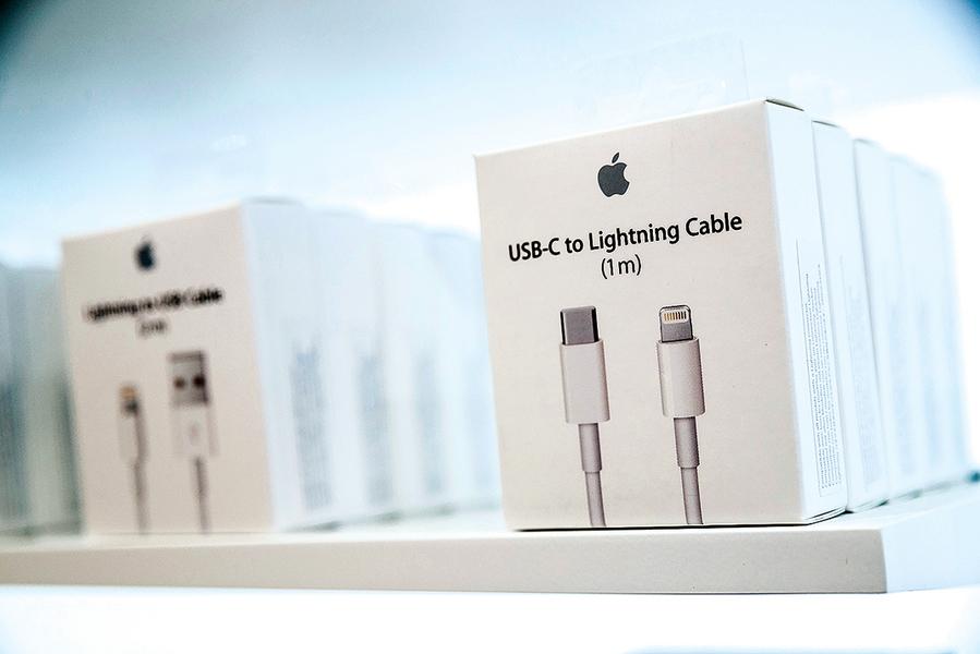 蘋果高端手機 將全面使用無線充電
