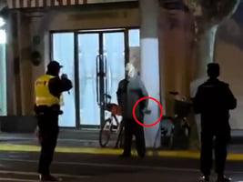 北京上海接連詭異出狀況 上海警察鬧市區開槍傷人