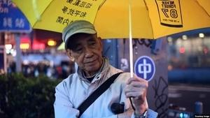 香港抗爭者的故事 83歲老人留守旺角1800多天