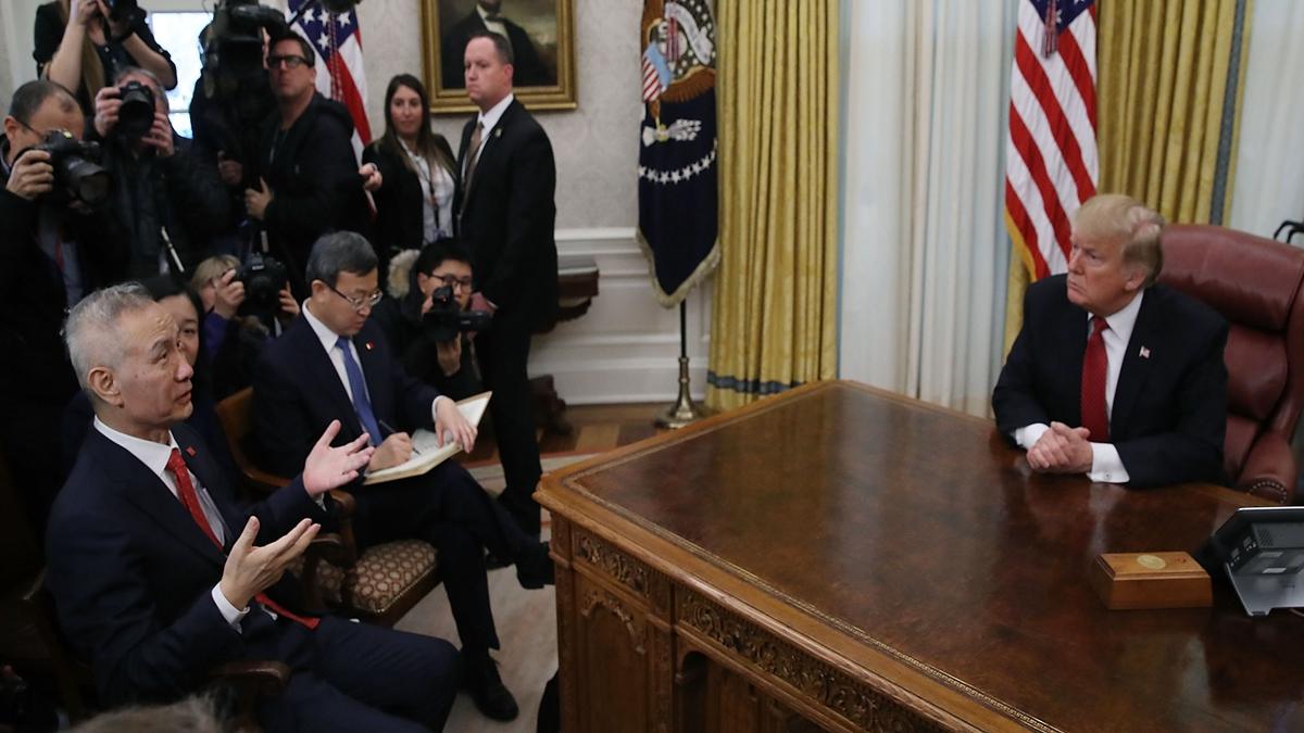 中美達成第一階段協議並未消減外界對兩國之間貿易戰的擔憂。示意圖(Mark Wilson/Getty Images)