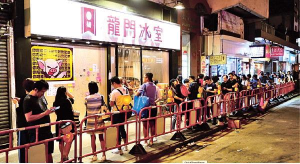 龍門冰室是其中一家黃店,老闆張俊傑說:「按良心去做事比賺錢更重要!」與中國傳統文化「富而有德」的理念一致。(余鋼/大紀元)