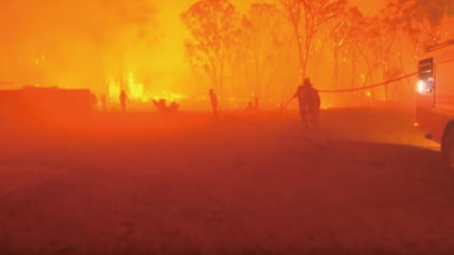 澳洲全國均溫41.9度又破紀錄 野火仍肆虐