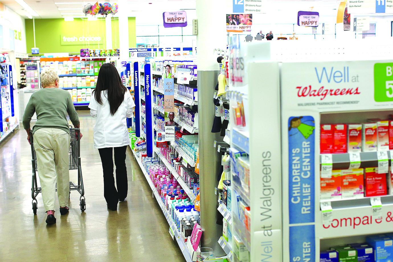 品牌藥物在加拿大只是美國價格的一半。(法新社)