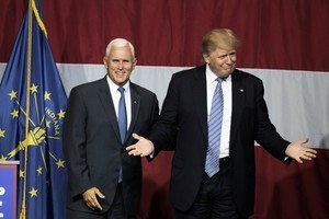 特朗普公布競選搭檔彭斯 其國會人脈強