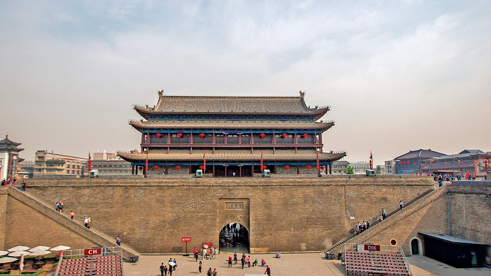 ▲ 故秦都城咸陽郊外舉辦的鴻門宴為楚、漢戰爭埋下了伏筆。圖為西安古城門。(Shutterstock)
