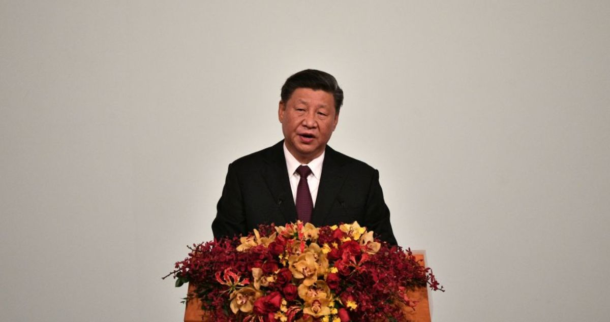 澳門主權移交中國20周年暨澳門特別行政區第五屆政府就職典禮2019年12月20日在澳門舉行,中國國家主席習近平出席慶典並發表了講話。(PHILIP FONG/AFP via Getty Images)