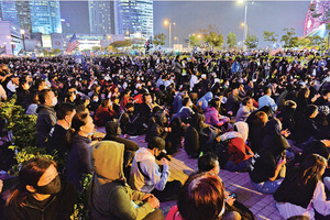 4.5萬人集會聲援星火同盟