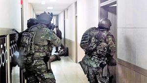 美軍公開生擒北韓領導人演習畫面