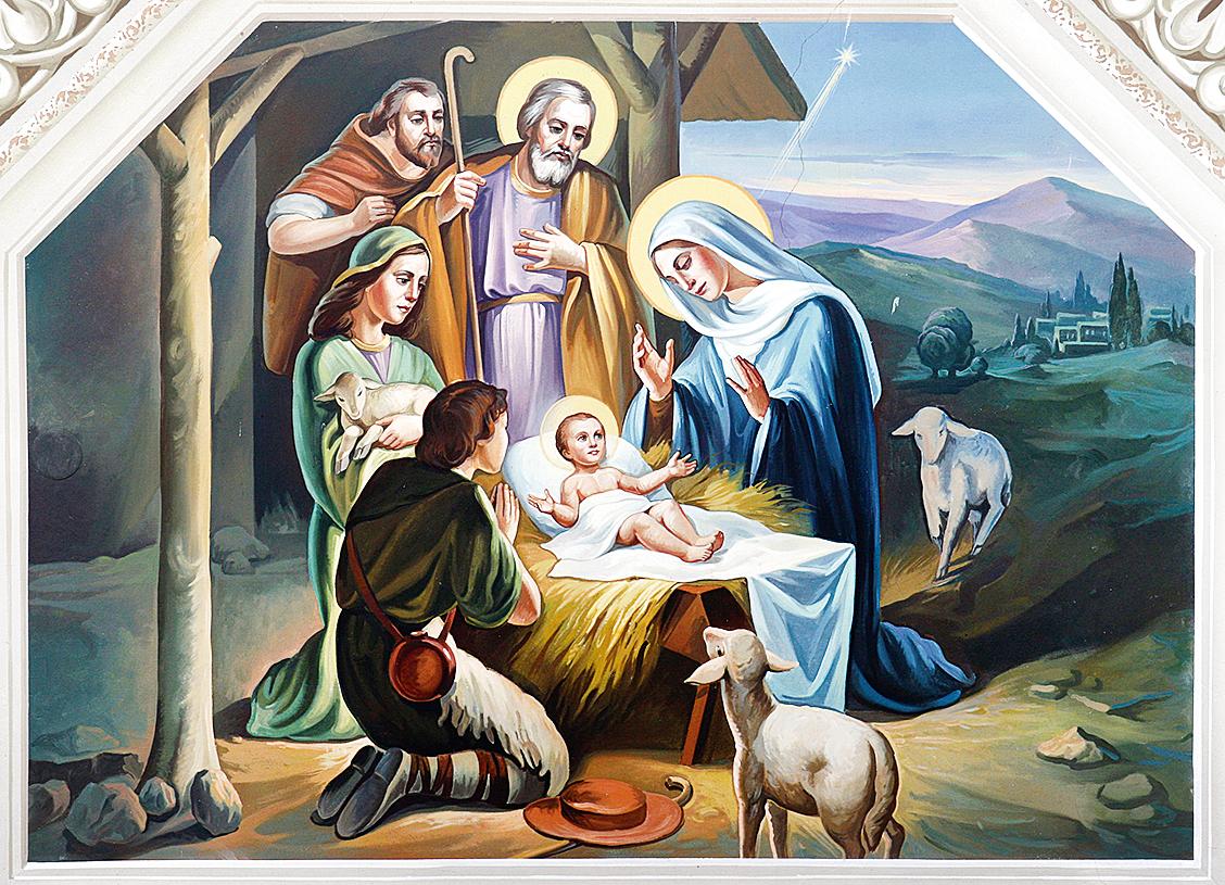 每到聖誕節時,很多基督徒的家裏都會重現耶穌誕生於馬棚和東方三王來朝拜的場景(Fotolia)
