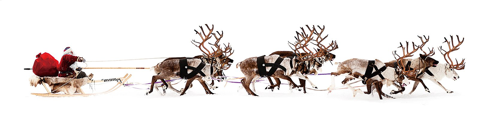 最早的基督教慶祝聖誕時,並沒有聖誕老人。那時穿著紅斗篷,駕著雪橇來村莊裏探望孩子們的白鬚老者是聖尼古拉(聖尼古拉斯),他是保護孩子們的聖人(Fotolia)