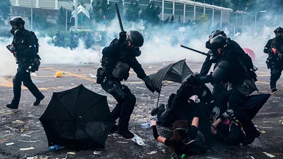 港警武力鎮壓內規曝光 至今0警受罰